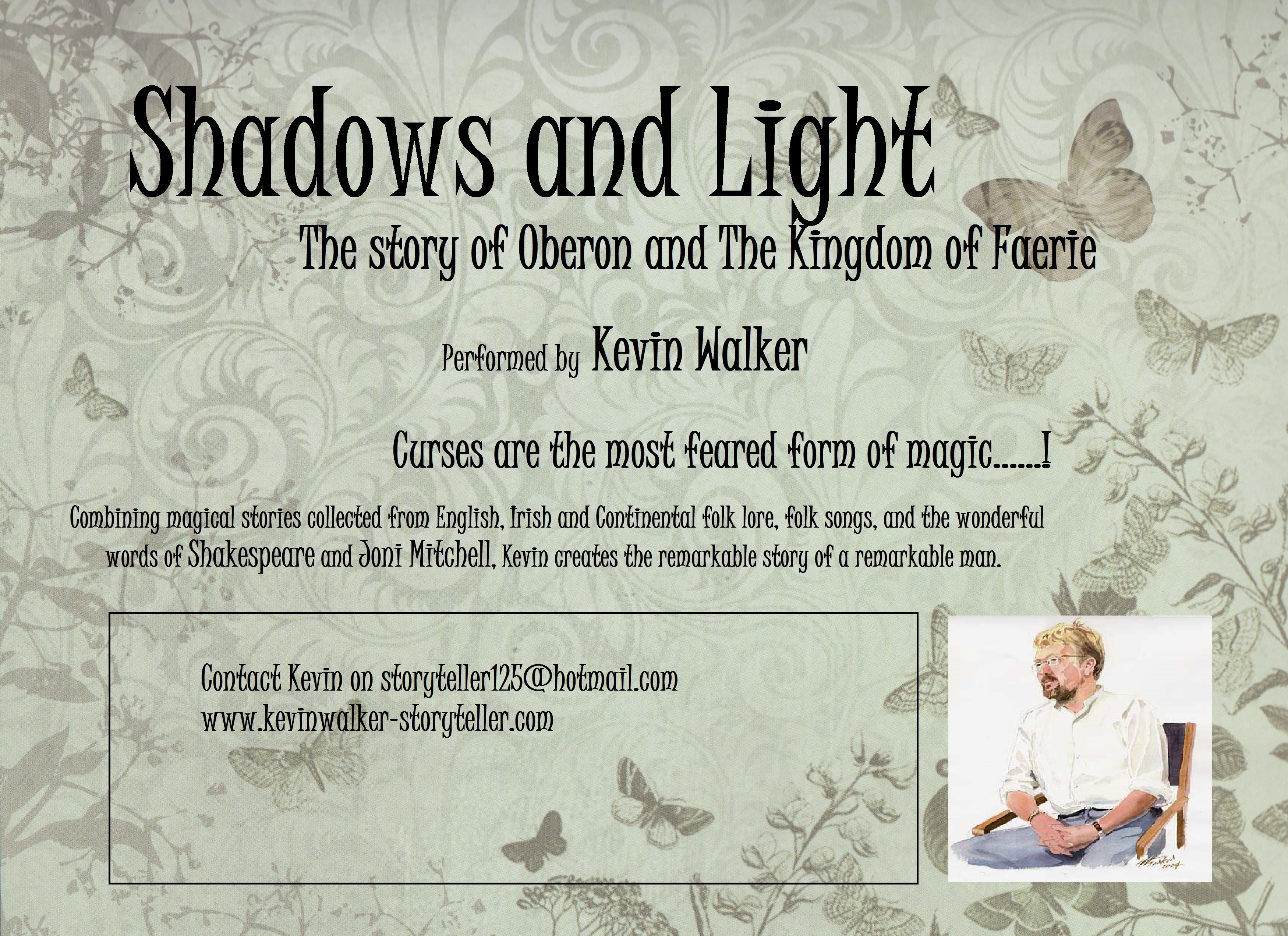 Kevin Walker: Storyteller » Shadows and Light…the story of Oberon ...